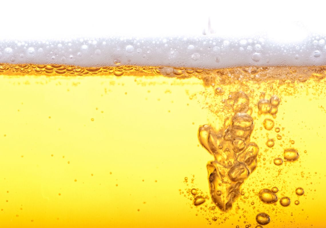 How many bubbles in a Glass of Beer?