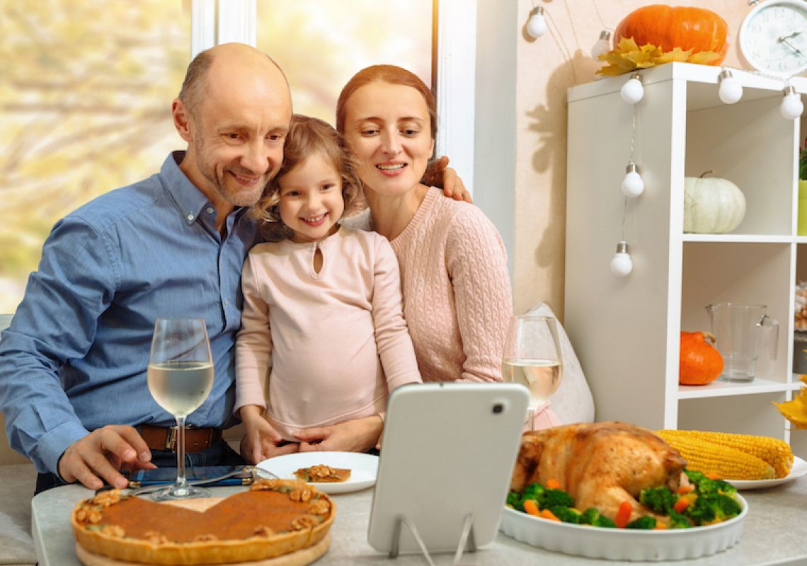 Virtual Thanksgiving and price drops as US embraces change