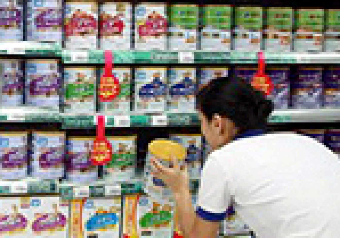 Spotlight on the infant formula market in China
